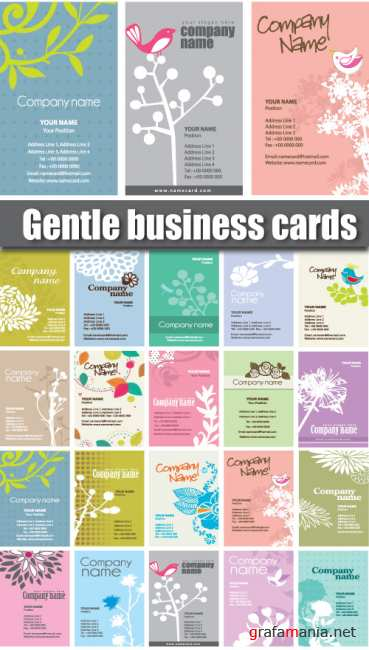 Gentle bisiness card