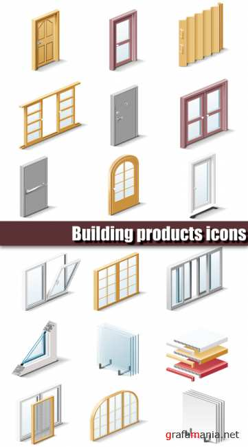 Building products icons