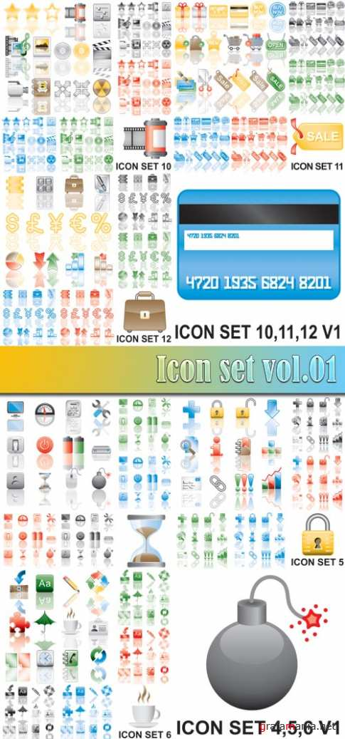 Icon set vol.01