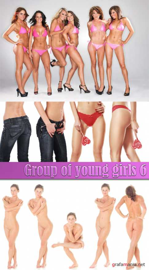 Group of young girls 6