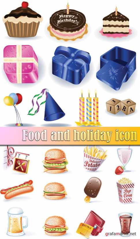 Food and holiday icon