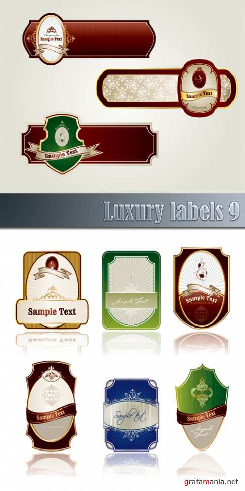 Luxury labels 9