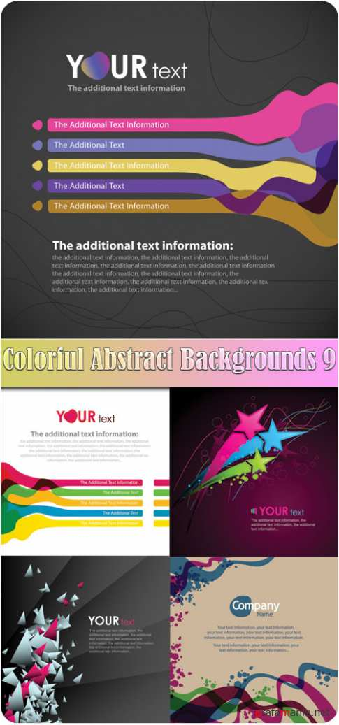 Colorful Abstract Backgrounds 9