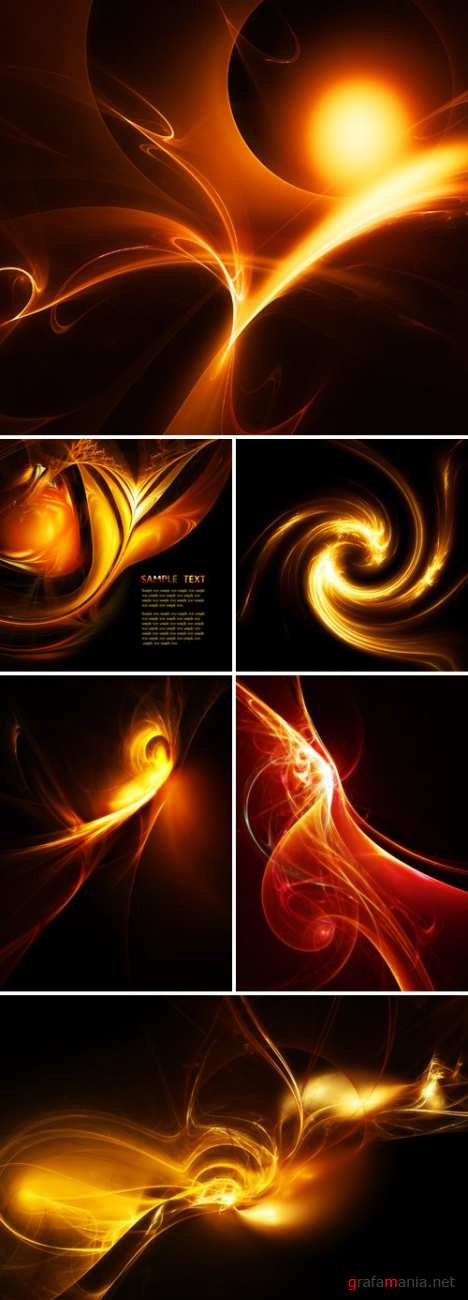 Fire Abstract Backgrounds