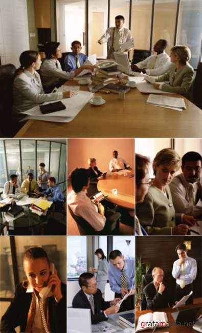 Clipart – Business and Office Scenes