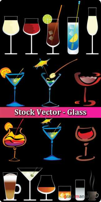Stock Vector - Glass
