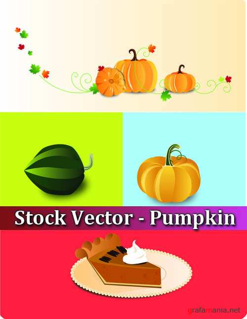 Stock Vector - Pumpkin