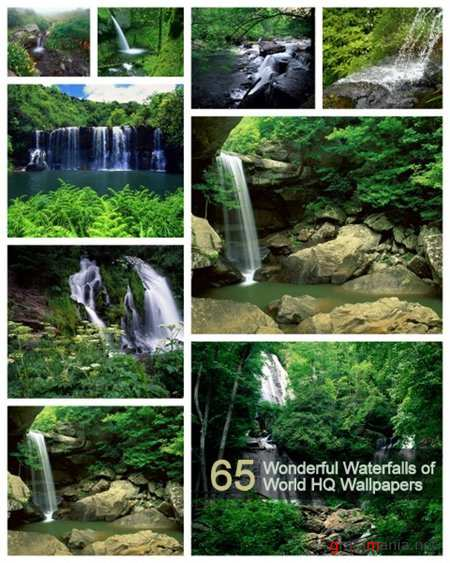 65 Wonderful Waterfalls of World HQ Wallpapers