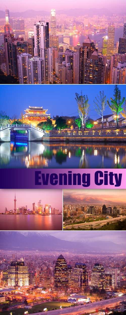 Stock Photo - Evening City