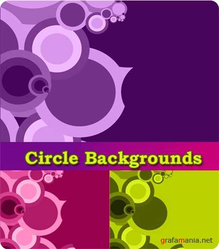 ��������� ������� - Circle Backgrounds