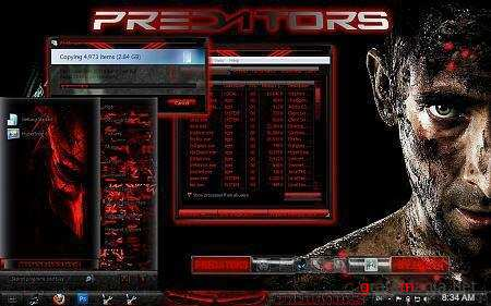 Predators Theme for Windows 7
