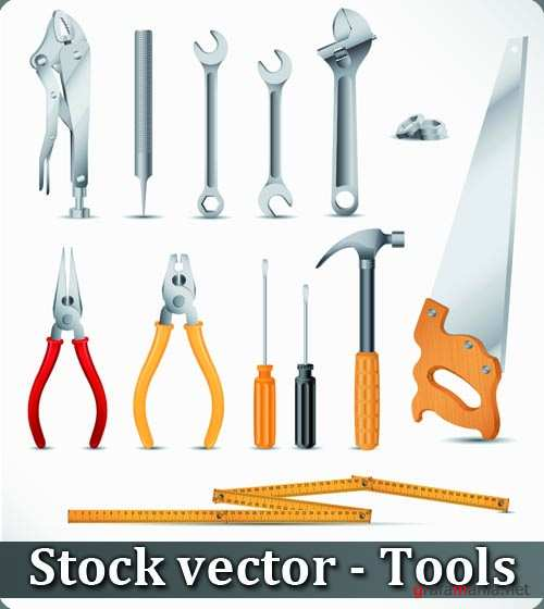 Stock vector - Tools
