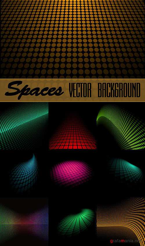 Spaces Vector Background