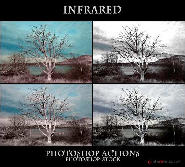 7 Actions by photoshop stock