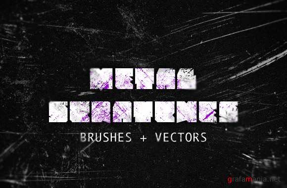 Metal Scratches Brushes