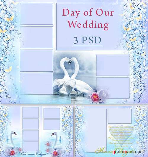 Photoframes -  Day of Our Wedding