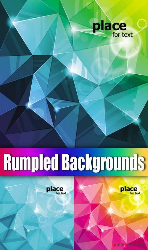 Rumpled Paper Backgrounds