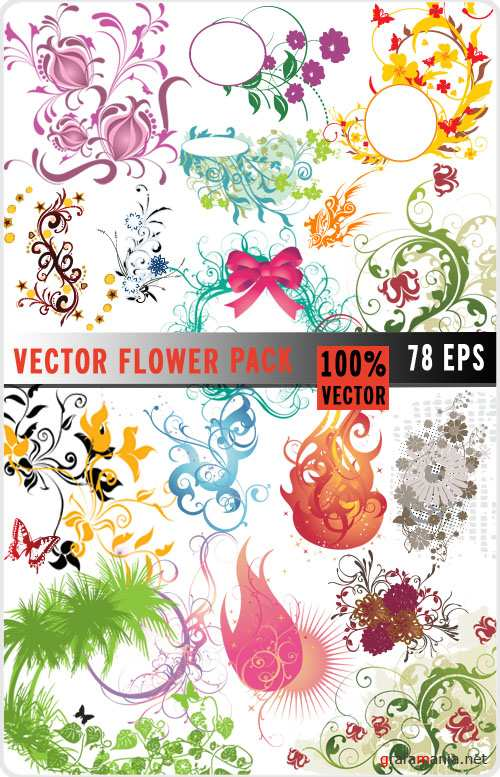 Vector Flower Pack