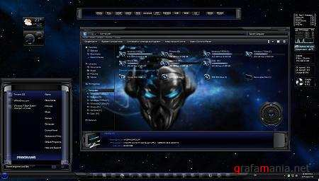 Freeze Theme for Windows 7