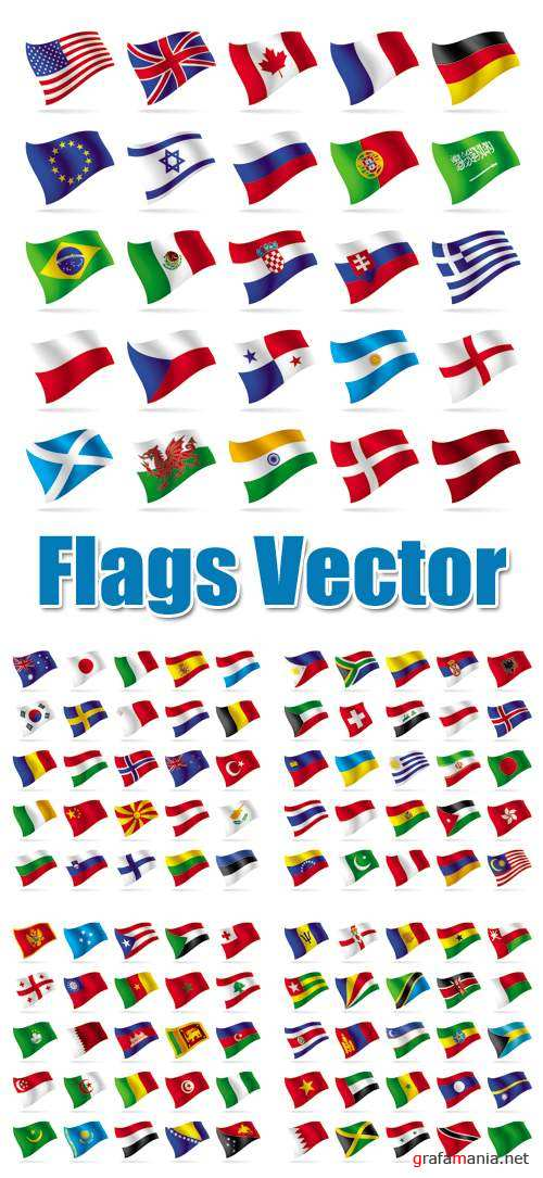 Flags Vector Icons