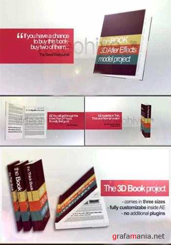 VideoHive After Effects Project - 3D Book.89389
