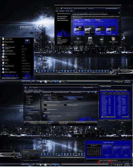 City Theme for Windows 7