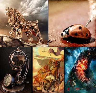 Steampunk Art.