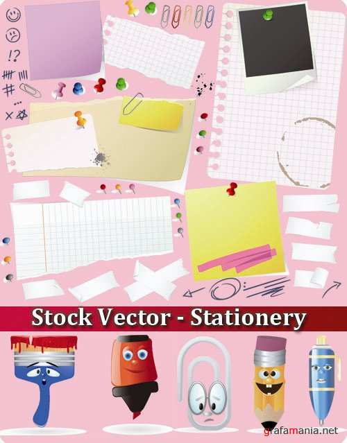 Stock Vector - Stationery
