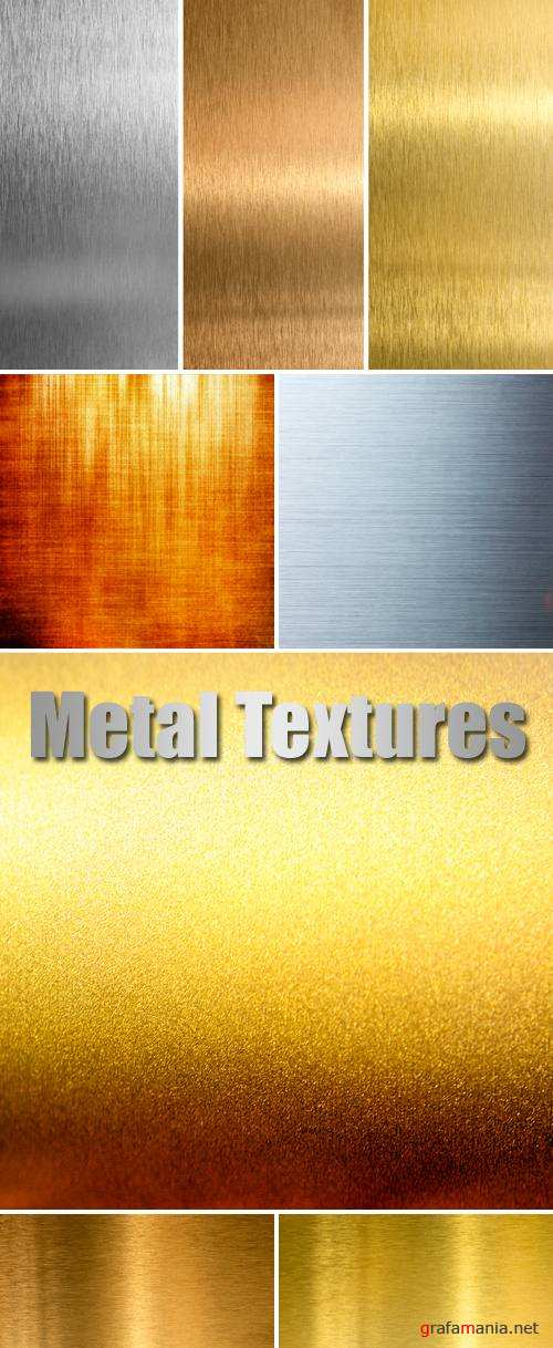 Stock Photo - Metal Textures