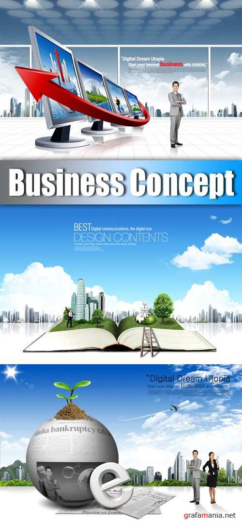 PSD Templates - Business Concept
