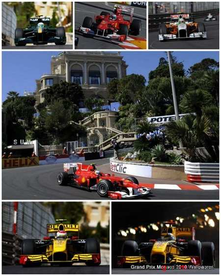 35 Grand Prix Monaco 2010 Wallpapers