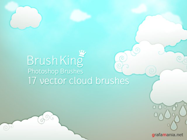 Vector Cloud Brushes