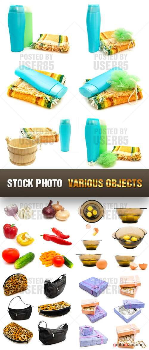 Stock Photo - Various Objects