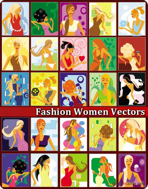 Fashion Women Vectors