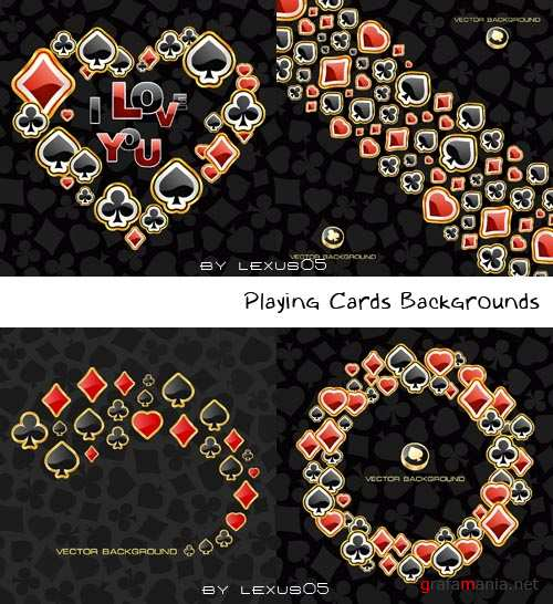 Playing Cards Logo Backgrounds