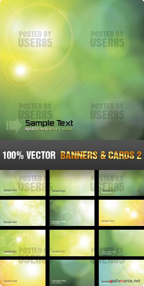 Stock Vector - Banners & Cards 2