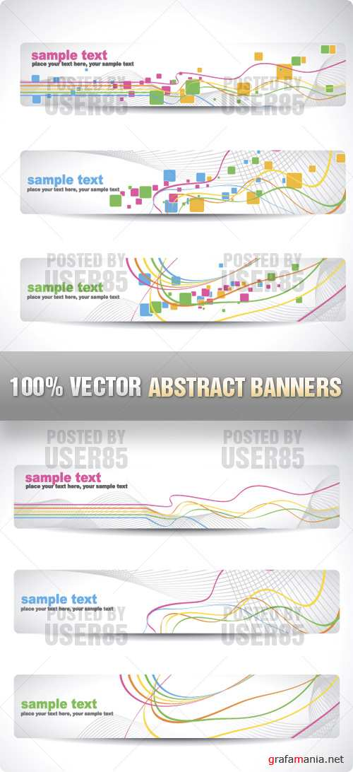 Stock Vector - Abstract Banners