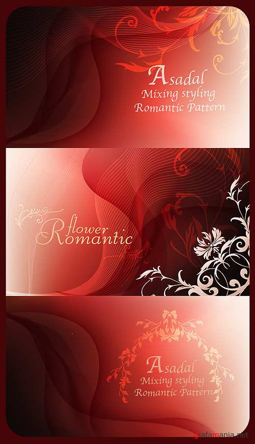 Romantic Red Background
