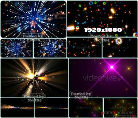 VideoHive motion Light and Star Pack 2
