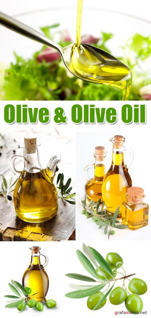 Stock Photo - Olive and Olive Oil