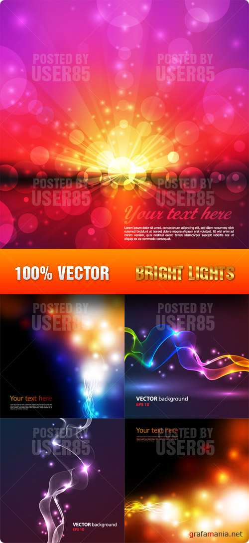 Stock Vector - Bright Lights