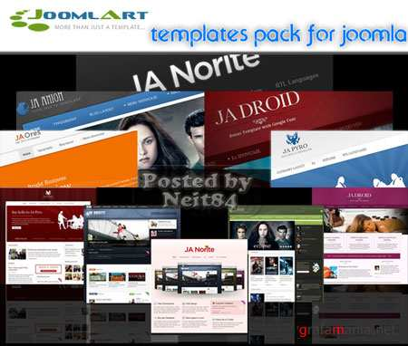 JoomlArt Full Templates Pack for Joomla