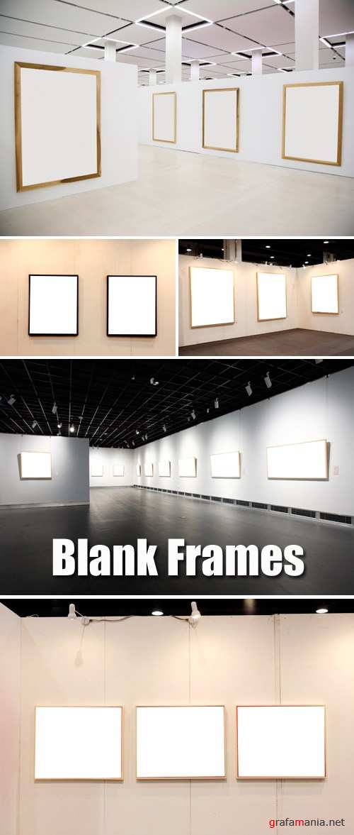 Stock Photo - Blank Frames