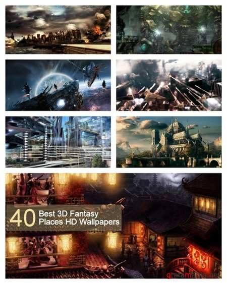 40 Best 3D Fantasy Places HD Wallpapers