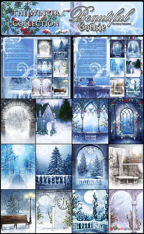 Beautiful Gothic Winter Collection