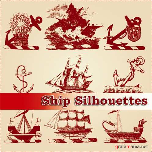 ��������� ������� - Ship silhouettes