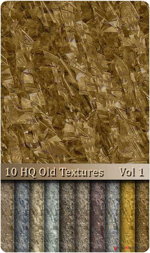 10 HQ Old Textures | Vol 1