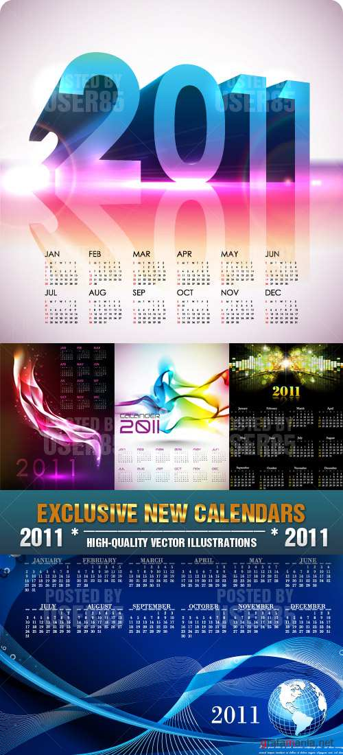 EXCLUSIVE NEW CALENDARS