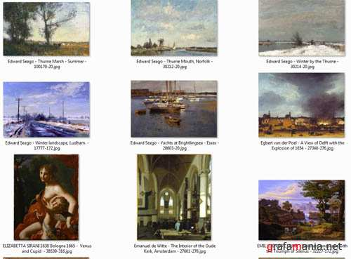 Paintings of  European Collection