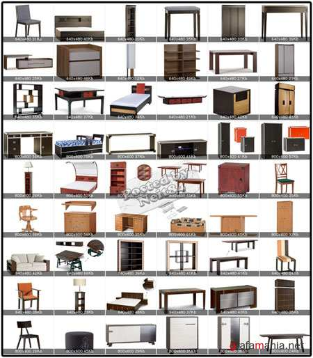 3D models of furniture and accessories from the Polish factory VOX